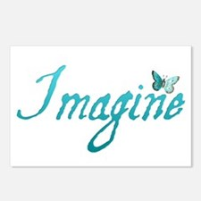 Imagine Postcards (Package of 8)