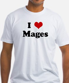 I Love Mages Shirt