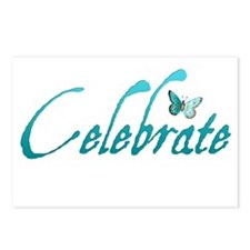 Celebrate Postcards (Package of 8)