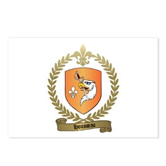 HOUSSEAU Family Crest Postcards (Package of 8)