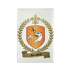 HOUSSEAU Family Crest Rectangle Magnet (10 pack)