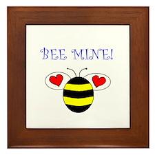 BEE MINE Framed Tile