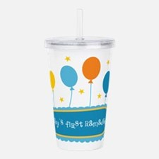 Baby's First Ramadan Acrylic Double-wall Tumbler