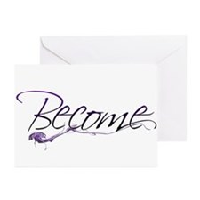 Become Greeting Cards (Pk of 10)