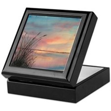 Sunrise Water View Keepsake Box
