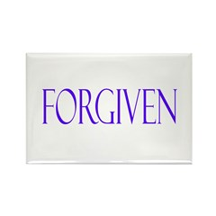 Forgiven Rectangle Magnet (100 pack)