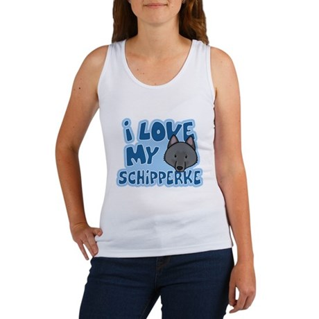 I Love my Schipperke Women's Tank Top
