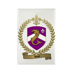 HUOT Family Crest Rectangle Magnet (100 pack)