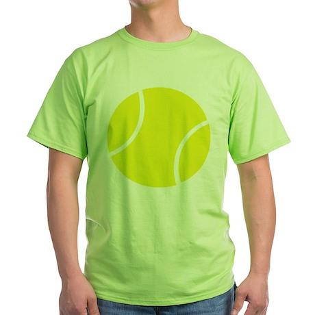 tennis ball Green T-Shirt