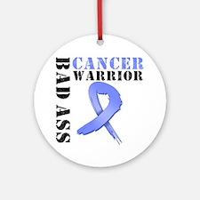 Esophageal Cancer Warrior Ornament (Round)