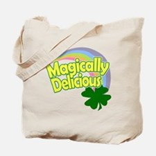 Magically Delicious Pastel Rainbow Tote Bag