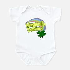 Magically Delicious Pastel Rainbow Infant Bodysuit