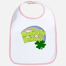 Magically Delicious Pastel Rainbow Bib