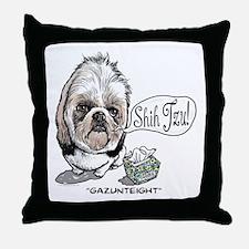 Cute Shih Tzu Throw Pillow