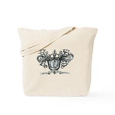 Death Crest Tote Bag