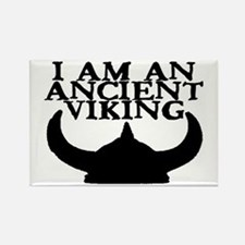 I AM AN ANCIENT VIKING Rectangle Magnet