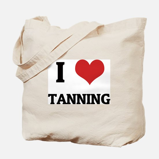 I Love Tanning Tote Bag