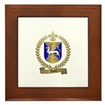 HURET Family Crest Framed Tile