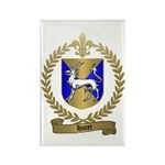HURET Family Crest Rectangle Magnet
