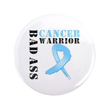 "Prostate Cancer Warrior 3.5"" Button (100 pack)"
