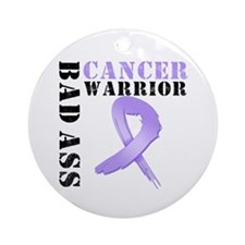Cancer Warrior Ornament (Round)