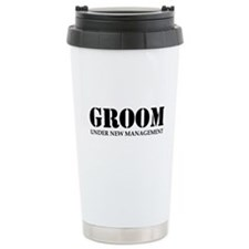 Groom Under New Management Travel Mug