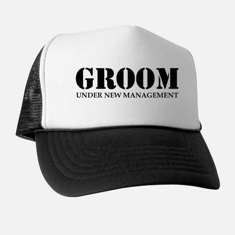 Groom Under New Management Trucker Hat