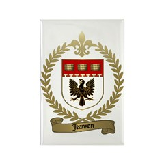 JEANSON Family Crest Rectangle Magnet (100 pack)