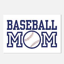 Baseball Mom Postcards (Package of 8)
