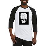Cats Skull Baseball Jersey