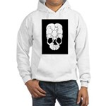 Cats Skull Hooded Sweatshirt