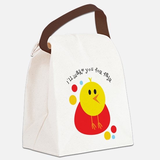 I'll Wake You For Fajr Canvas Lunch Bag