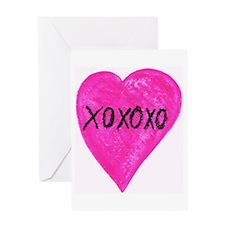 XOXOXO Greeting Card