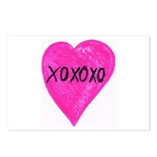 XOXOXO Postcards (Package of 8)