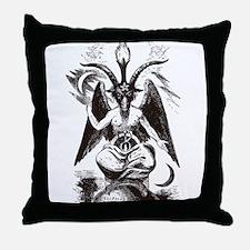 Sabbat Goat Throw Pillow