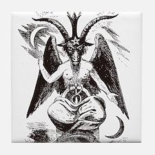 Sabbat Goat Tile Coaster