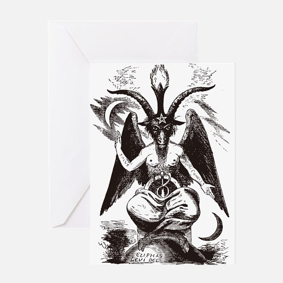 Sabbat Goat Greeting Card