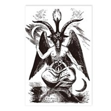 Sabbat Goat Postcards (Package of 8)
