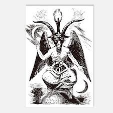 Sabbat Goat Postcards (Package of 8)