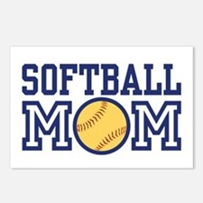 Softball Mom Postcards (Package of 8)