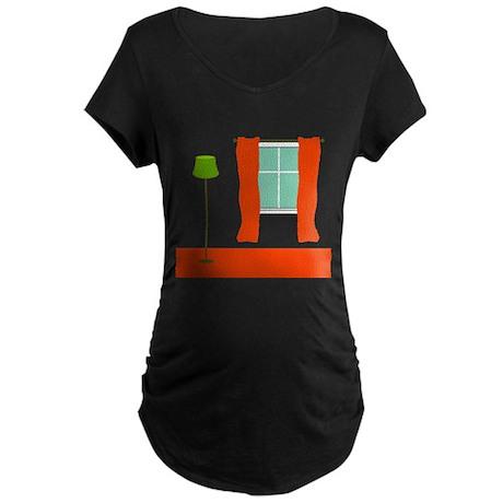 Carpet/Drapes Redhead Maternity Dark T-Shirt