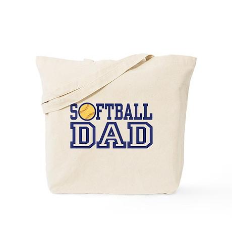 Softball Dad Tote Bag