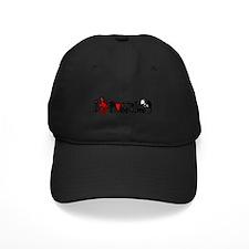 I Love Hearts Possums Baseball Hat