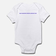 Mrs Wasmund coming January 20 Infant Bodysuit