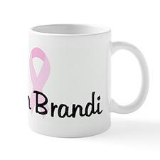 Team Brandi pink ribbon Mug