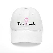 Team Brandi pink ribbon Baseball Cap