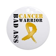 Appendix Cancer Warrior Ornament (Round)