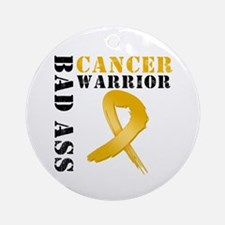 Appendix Cancer Warrior Ornament (Round)