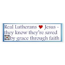 By Grace Through Faith Bumper Bumper Sticker
