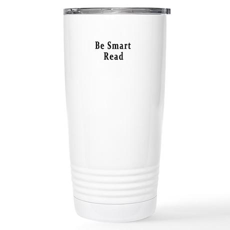 Be Smart Read Stainless Steel Travel Mug